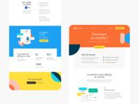 Dropcontact Exploration Landing Page art direction landing product branding desktop interface webdesign ui ux design
