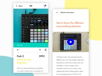 Ableton - Mobile App IOS