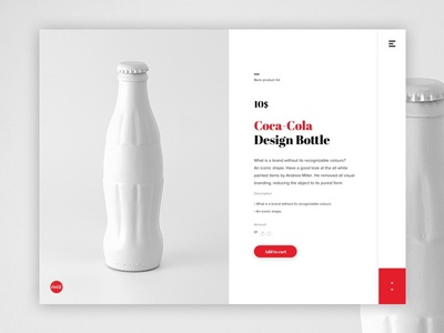 Product detail page Coca-Cola