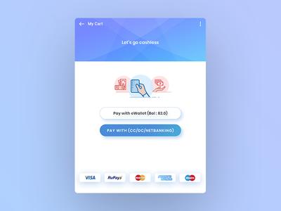 Credit Card Payment Option UI Design