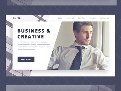 Corporate Business Website Landing Page