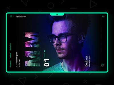 UI/UX Portfolio Design