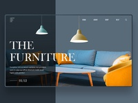 Furniture Website UI Design