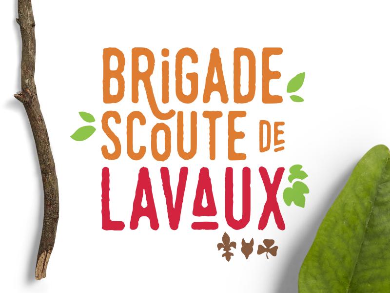 Logo Brigade scoute de Lavaux scout logotype logo