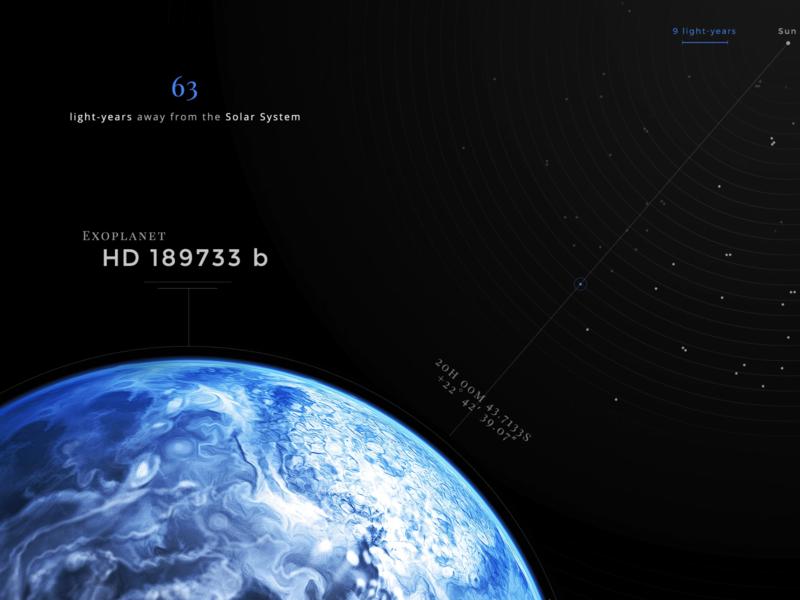 little zoom dark exoplanet webdesign