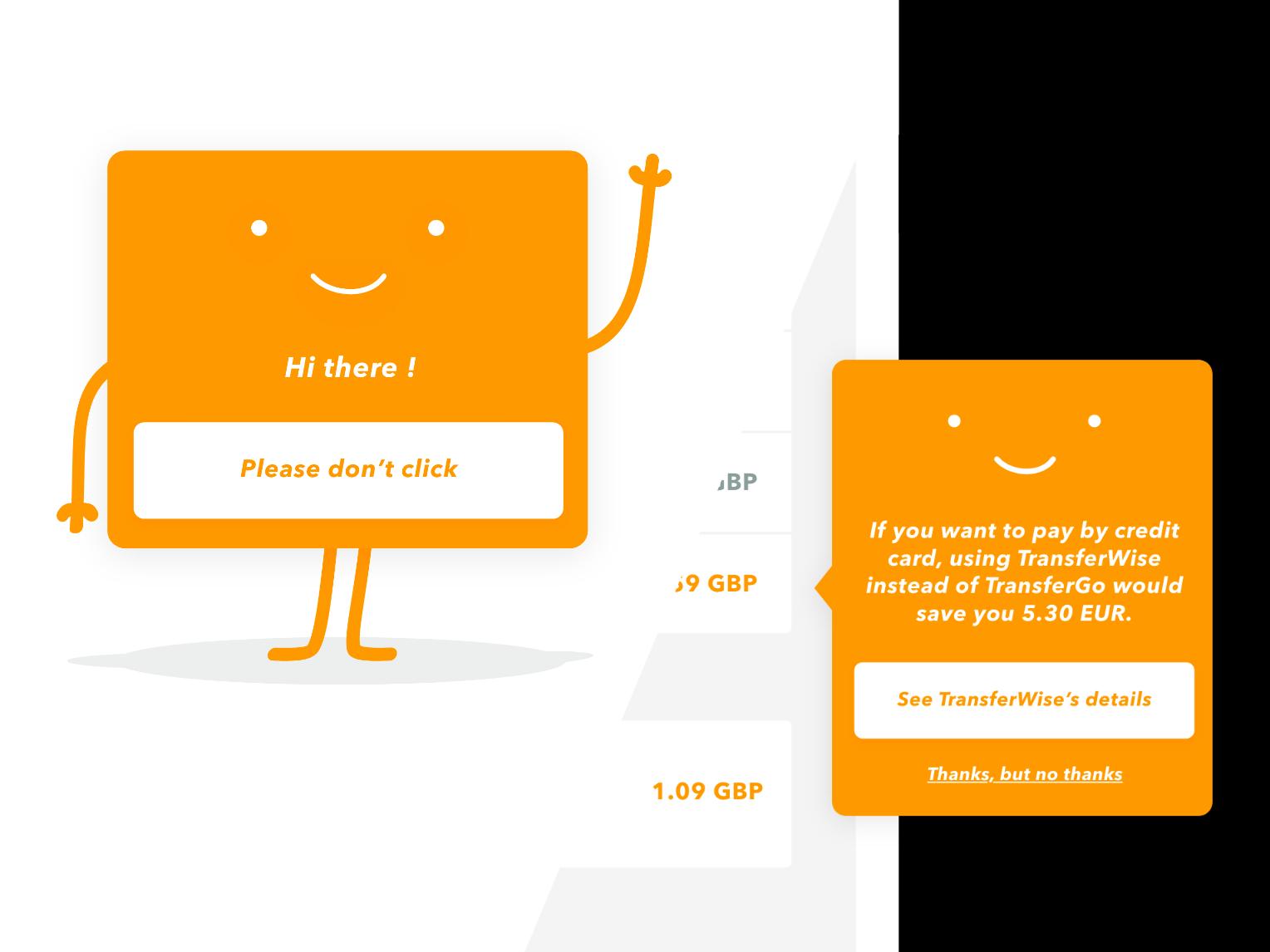 Meet Cardy, always here to help you saving money money vector minimal branding ux monito flat design webdesign