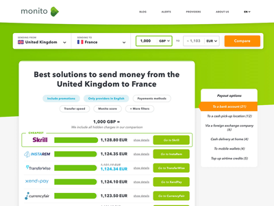Monito - Stop overpaying when sending money abroad