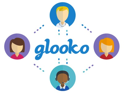 Postcard for Glooko vector illustration illustration vector postcard branding