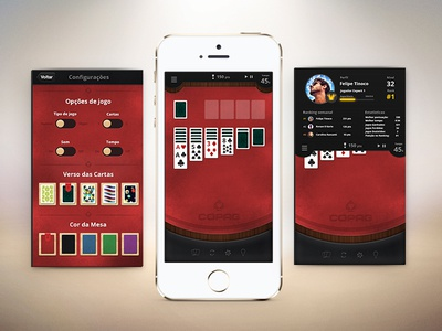 Solitaire Copag Screens