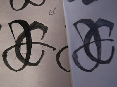 JAE Monogram Sketches