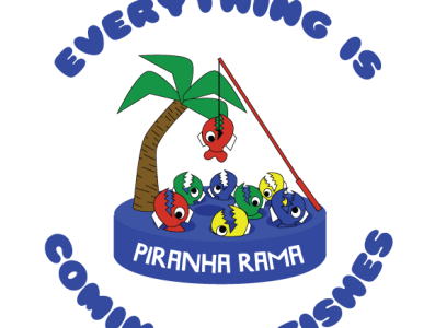 Piranha Rama T-shirt concept