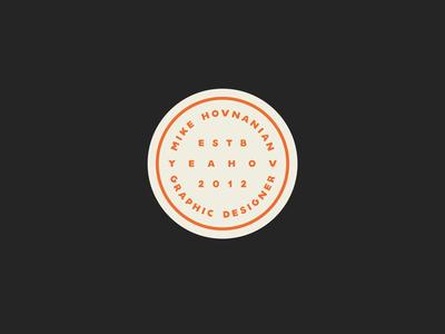 YEAHOV Logo Identity