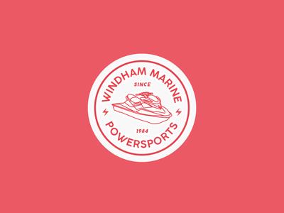 Windham Marine & Powersports Logo Identity Concept