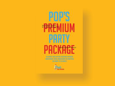 Pop's Premium Party Package Postcard