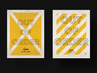 Lynx 'Out of Order' Signage