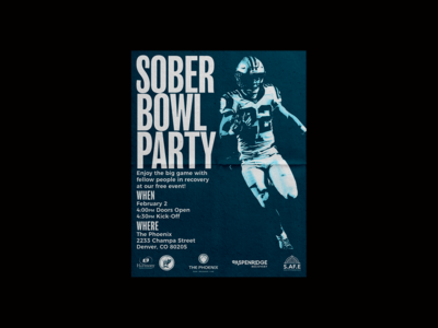 Harmony Foundation Sober Bowl Flyer