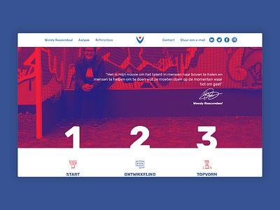 Topvorm Website
