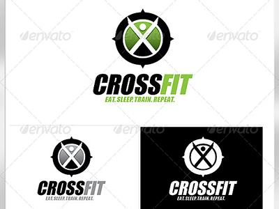 Crossfit Logo Template