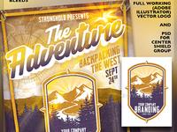 Outdoor Adventure Flyer Promo Kit
