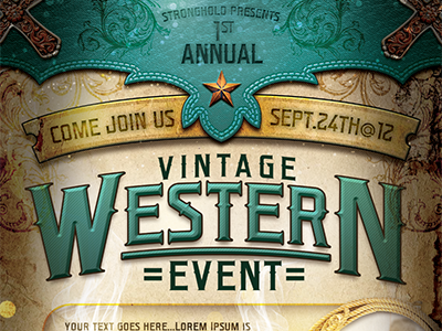 Western Flyer Template By Stronghold Dribbble