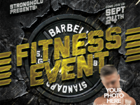 FITNESS EVENT FLYER TEMPLATE