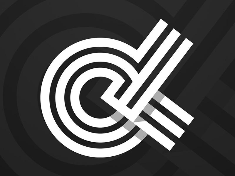 OX Logo flat white black conception logo ox