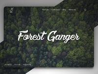 Forest Ganger - Landing Page