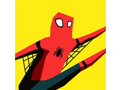 Spiderman illustrator marvel vector spiderman oc character character design design cintiq digital drawing