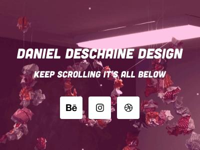 Website header illustration photography social media branding website web