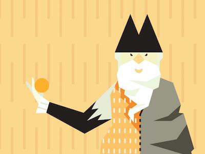 Wizard Animation wip adobe illustrator wizard illustration vector illustration vector animation