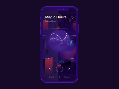 Music Player app concept app animations animation adobe after effects interaction animation abstraction interactive design user experience design user interface design app music interface animation music app