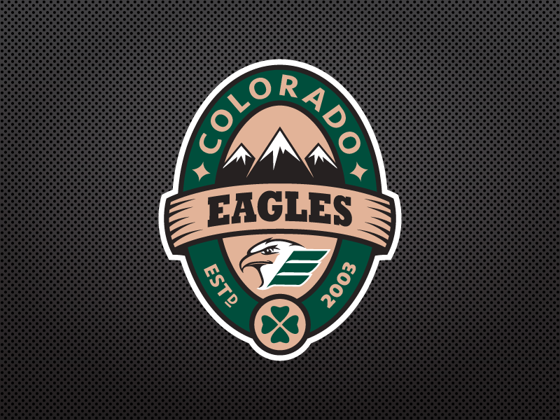 Colorado Eagles Pot Of Gold Logo By Full Stride Designs On Dribbble