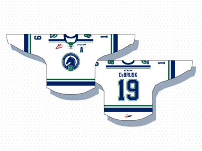 Swift Current Broncos 30th Anniversay Jersey