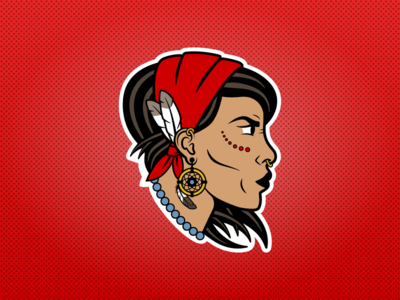 Gypsy Cripplers Logo sports design character design sports logos ice hockey logo design sports nhl hockey logo