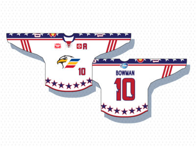 Colorado Eagles Military Jersey sports design military appreciation sports logos ice hockey logo design eagle colorado military nhl hockey logo