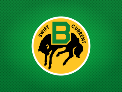 Swift Current Broncos 3rd Jersey Main Crest