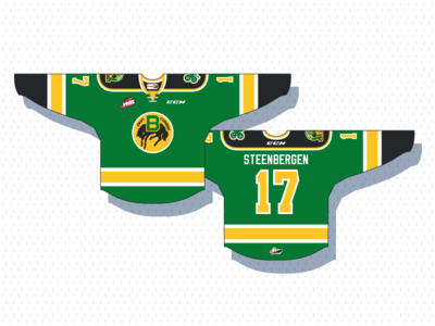 Swift Current Broncos 3rd Jersey