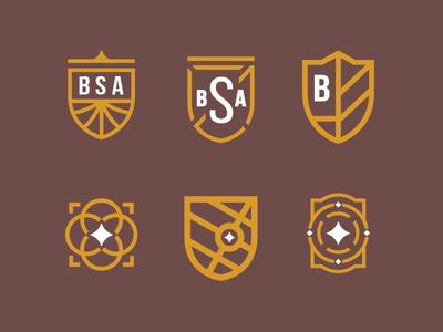 BSA Crests & Marks