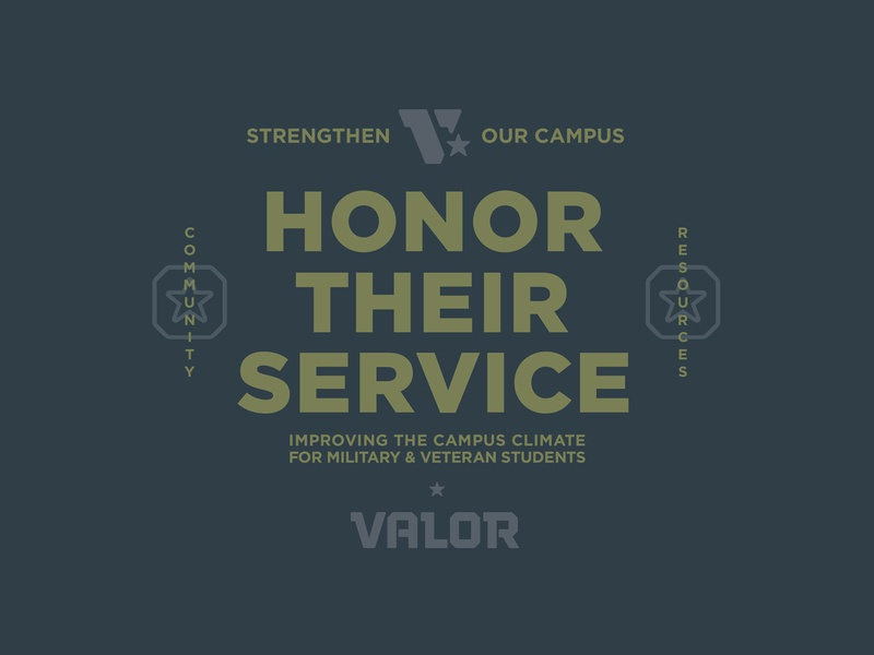Valor Collateral lockup community badge branding honor resource v valor veteran star army military service tough logo
