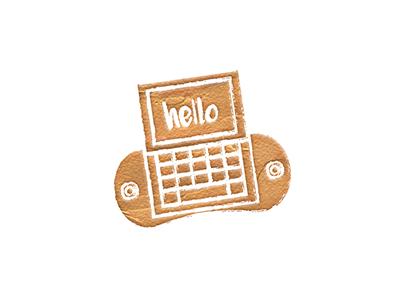 'Contact Me' Icon t-mobile sidekick messenger 90s retro message icon