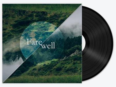 Farewell playlist design music rdio spotify playlist album autumn folk