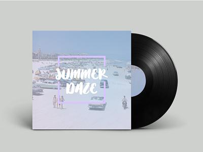 Summer Daze on Designers.mx cover design designers.mx spotify beach summer mixtape music playlist