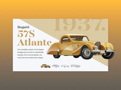 Classic 1930s cars automobile classic clean ui slider 1930 car bugatti