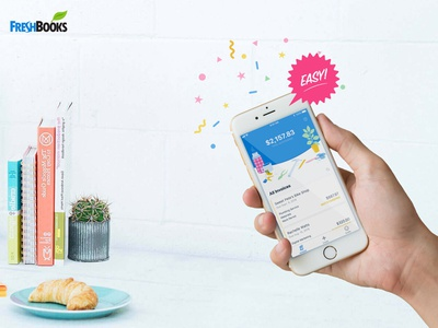 Invoice Creator by FreshBooks ux design user experience mobile app iphone ui ios design