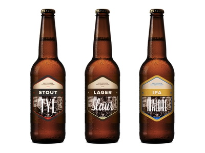 Craft Beer beer craft craftbeer label typography images bottle packaging