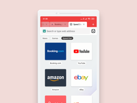 Vivaldi Browser for Android darkmode mobile mobile app mobile ui android app design web webbrowser android app android ui design browser vivaldi