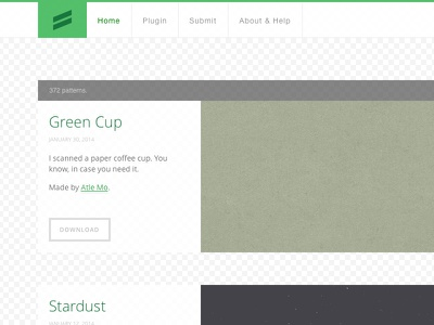 Subtle Patterns 2014 refresh flat subtle patterns green