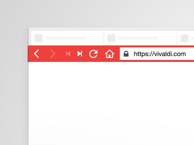 Vivaldi 3d icons url tabs browser vivaldi