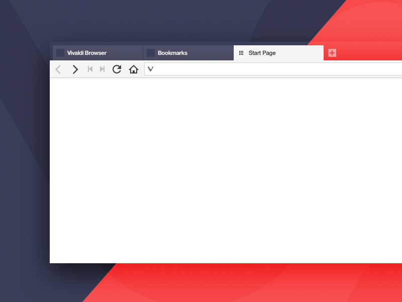 Vivaldi Sketch desktop web webbrowser ui browser vivaldi