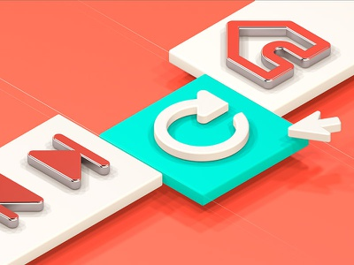 Vivaldi 2.2 Hero browser illustration shiny isometric peach 3d cinema4d icons vivaldi